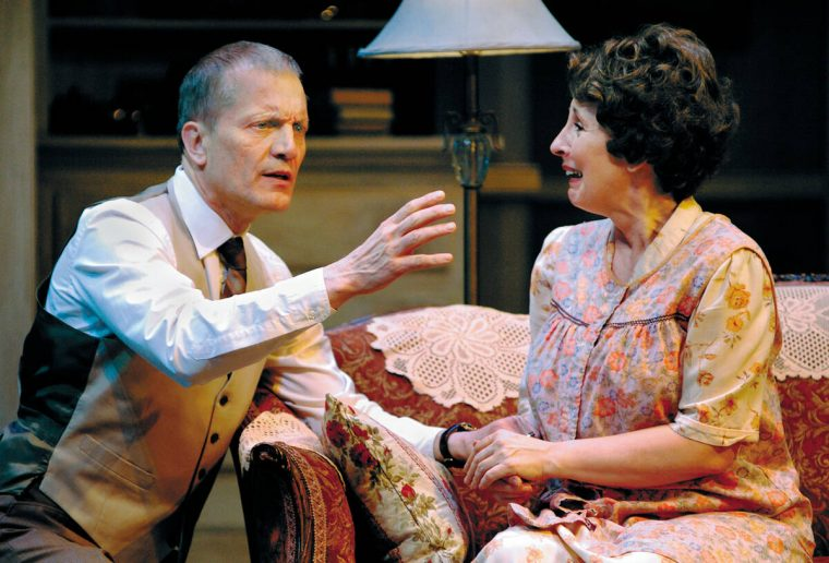 This 2008 file photo shows Michael Tylo, as Doc, and Susan Denaker as Lola, in the Nevada Conse ...