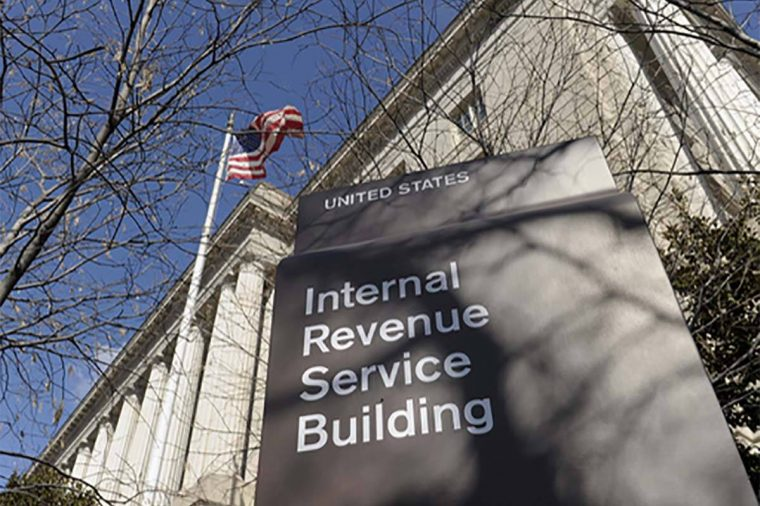FILE - In this March 22, 2013 file photo, the exterior of the Internal Revenue Service building ...