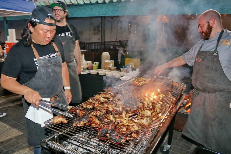 More than two dozen local chefs will participate in the Vegas Unstripped food festival Saturday ...