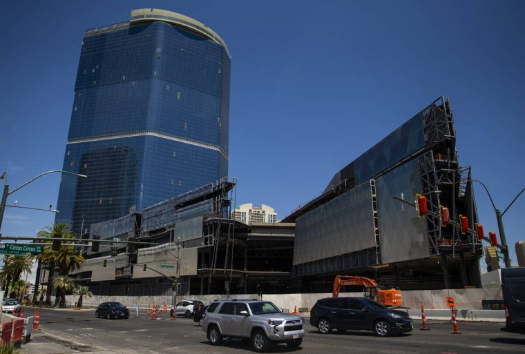 The Drew Las Vegas resort-casino photographed in Las Vegas on Tuesday, July 20, 2021. (Chase St ...