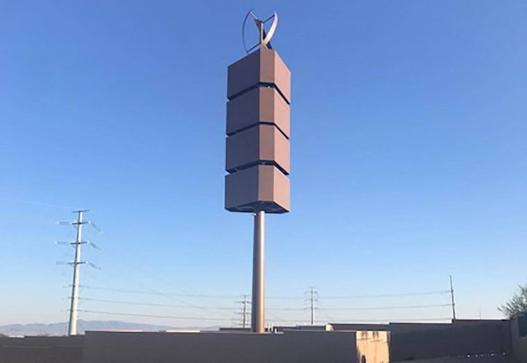 A new generation cellphone tower located in Summerlin will soon become active as the far west v ...
